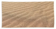 Waves In The Sand Bath Towel
