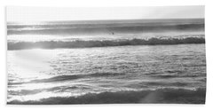 Waves Of Life Hand Towel by Beto Machado
