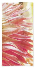 Hand Towel featuring the digital art Waves Of Petals by Steve Taylor