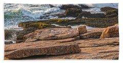 Waves Of Stone Bath Towel