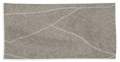 Waves Of Time In The Sand Hand Towel
