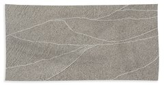 Waves Of Time And Time Again In The Sand Bath Towel