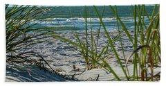 Waves Through The Grass Hand Towel