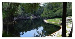 Way Down Upon The Suwannee River Bath Towel by Warren Thompson