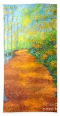 Way In The Forest Hand Towel