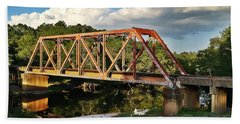 Waycross Trestle Bridge Hand Towel