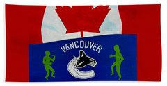 We Are All Canucks Hand Towel