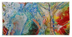 Bath Towel featuring the painting We Are Royalty by Deborah Nell