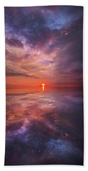 We Are The Dreamers Of Dreams Hand Towel by Phil Koch