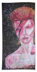 We Can Be Heroes A Tribute To David Bowie Bath Towel