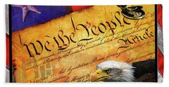 We The People Bath Towel