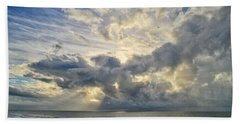 Weather Over Topsail Beach 2977 Hand Towel