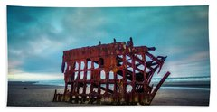 Weathered Rusting Shipwreck Hand Towel