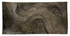Bath Towel featuring the photograph Weathered Tree Root by Mike Eingle