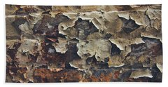 Weathered Wall Hand Towel by Scott Meyer