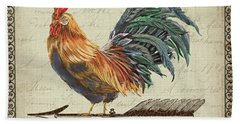 Weathervane Rooster-jp3772 Bath Towel