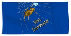 Web Developer Hand Towel