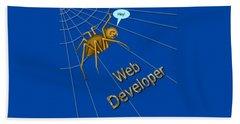 Web Developer Bath Towel
