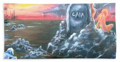 Weep For Gaia Hand Towel