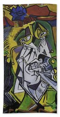 Picasso's Weeping Woman Bath Towel