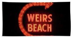 Weirs Beach Icon Bath Towel