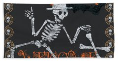 Welcome Ghoulish Guests Hand Towel