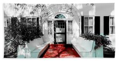 Bath Towel featuring the photograph Welcome by Greg Fortier