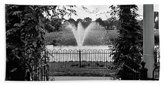 Bath Towel featuring the photograph Welcome by Robert Knight