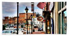 Welcome To Fells Point Bath Towel