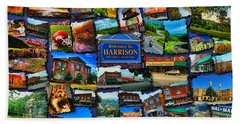 Welcome To Harrison Arkansas Hand Towel