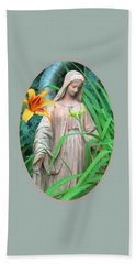 Peace Be With You - Images From The Garden Hand Towel