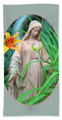 Peace Be With You Hand Towel by Brooks Garten Hauschild