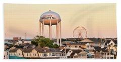 Welcome To Ocean City, Nj Hand Towel