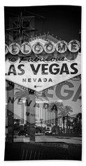 Welcome To Vegas Xiv Hand Towel