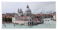 Welcome To Venice Hand Towel
