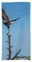 Well Balanced Eagle Hand Towel