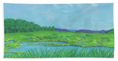 Wellfleet Wetlands Bath Towel