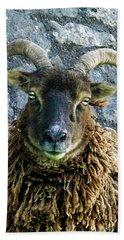 Welsh Ram Hand Towel