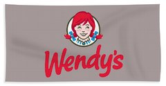 Wendys T-shirt Bath Towel by Herb Strobino