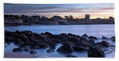 West Cliff Santa Cruz Sunrise Bath Towel