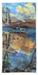 West Fork Reflection - Oak Creek Canyon Hand Towel
