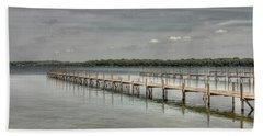 West Lake Docks Hand Towel