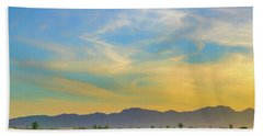 West Phoenix Sunset Digital Art Bath Towel