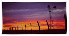 West Texas Sunset Bath Towel