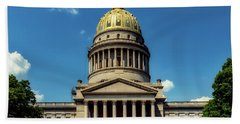 West Virginia Capitol - Charleston Hand Towel by L O C