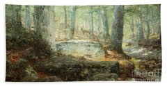 West Virginia Forest, 1905 Bath Towel