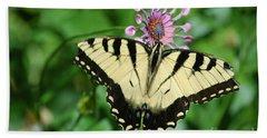Western Tiger Swallowtail Bath Towel