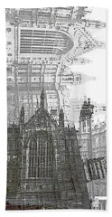Westminster In London Bath Towel