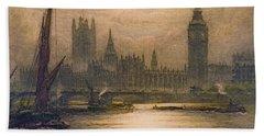 Westminster London 1920 Bath Towel