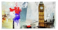 Westminster Hand Towel by Nicky Jameson